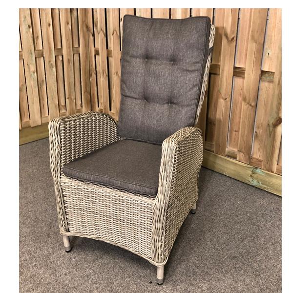 Verstelbare Stoel Relax.Empoli Verstelbare Stoel Light Kobo Grey